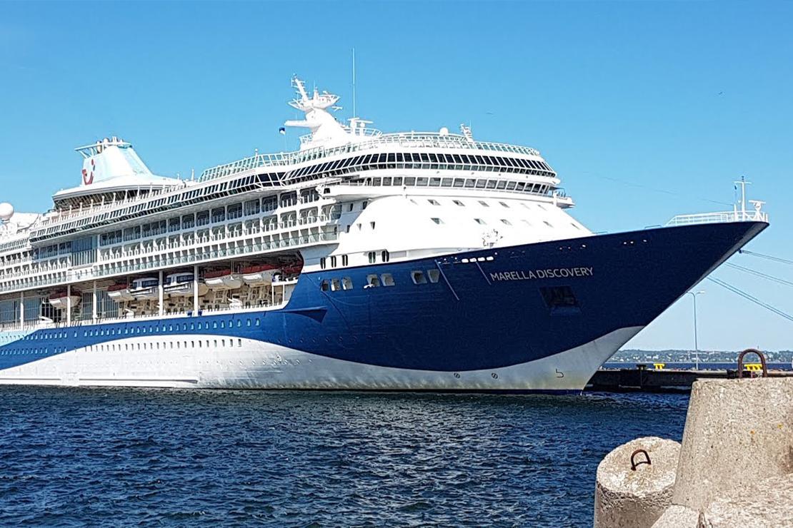 Marella Discovery (Docked in Malta)